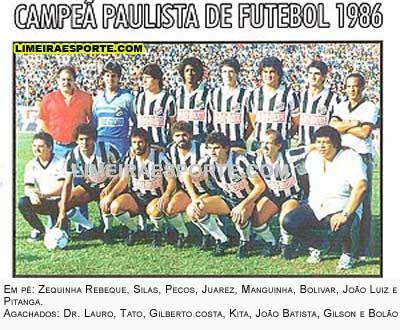 O dia 03 de setembro de 1986 será para sempre comemorado pelo torcedor da  Inter de Limeira 0723cb1f9d4a3
